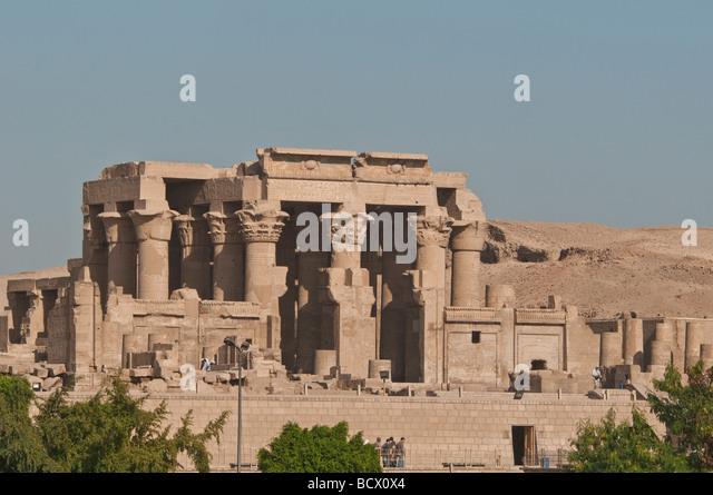 Egypt Kom Ombo Temple - Stock Image