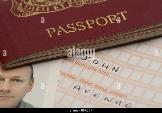 First British Passport Blue Was First Used For The Cover Of The