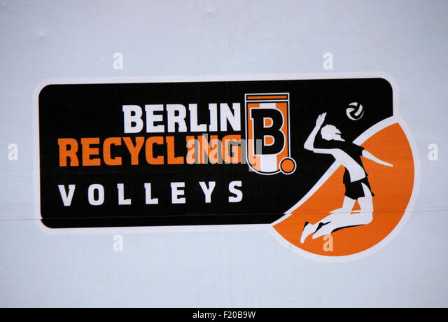 Markenname: 'Berlin Recycling Volleys', Berlin. - Stock Image