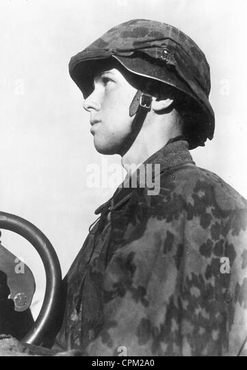 A volunteer of the Waffen-SS from Sweden, 1941 - Stock-Bilder