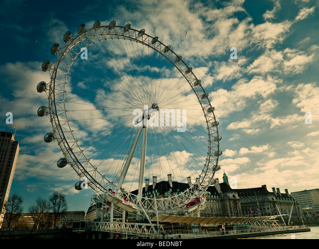 The London Eye - Stock Image