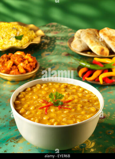 INDIAN TADKA DHAL - Stock Image