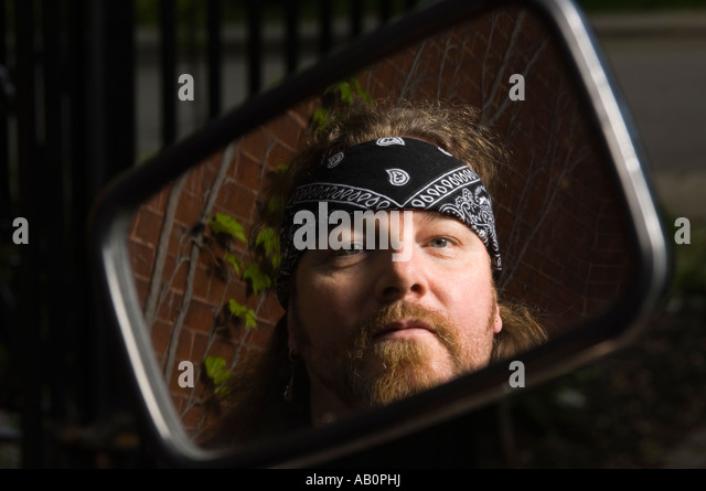 man tattoo and beard biker stock photos man tattoo and beard biker stock images alamy. Black Bedroom Furniture Sets. Home Design Ideas