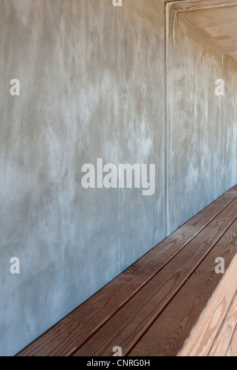 Baseball dugout, cropped - Stock Image