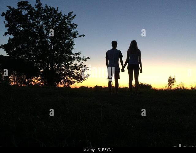 Loving couple - Stock Image