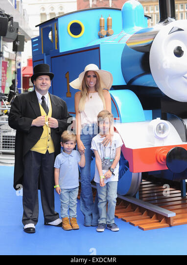 London, UK, UK. 12th July, 2015. Stacey Solomon attends the UK premiere of, Thomas & Friends: Sodors's Legend - Stock Image