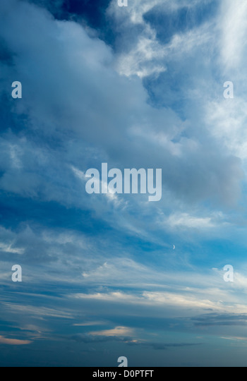 sky, Somerset, England, UK - Stock Image