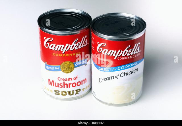 campbells soup cans stock photos   campbells soup cans