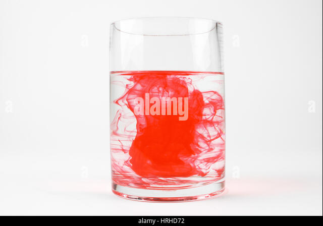 Dye in Water, 10 of 13 - Stock Image