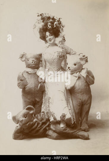 Anna Held, Broadway Entertainer - Stock Image
