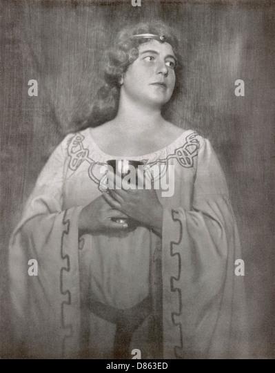 Emmy Streng As Isolde - Stock-Bilder