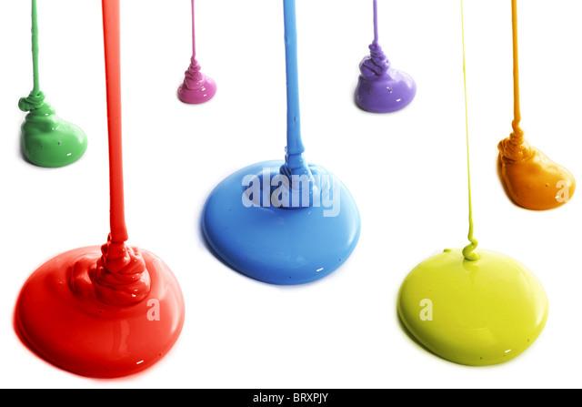 Pour paint stock photos pour paint stock images alamy for Paint n pour