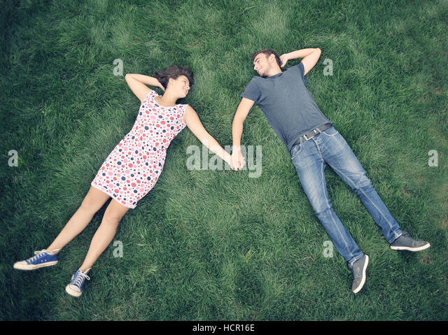 Teenagers outdoor - Stock Image