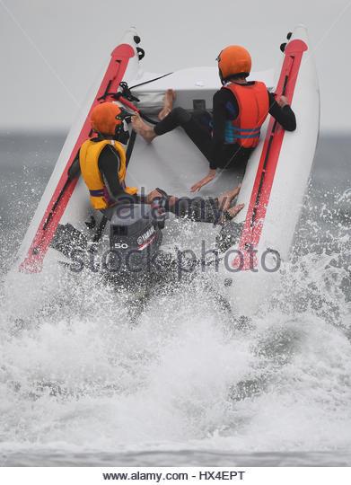 Whangamata, New Zealand. 25th Mar, 2017. March 25th 2017, Whangamata Surf Lifesavers Club, Whangamata, New Zealand; - Stock-Bilder