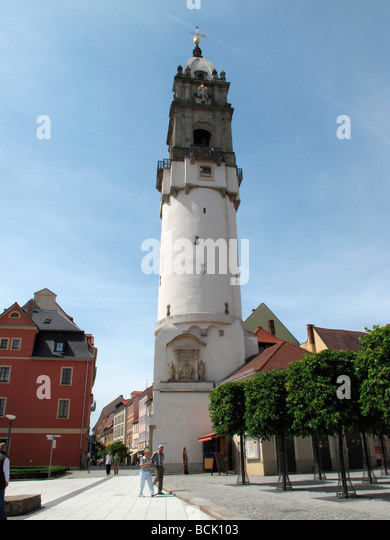 Saxony Bautzen Tower Germany May 09 - Stock-Bilder