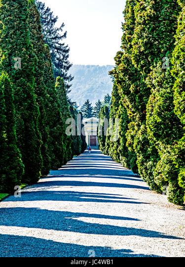 Zürich, Friedhof Sihlfeld; Sihlfeld Cemetery - Stock Image