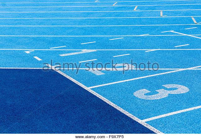 Tartan track - Stock-Bilder