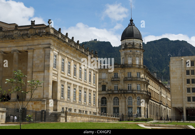 National Capitol, Bogota, Colombia - Stock Image
