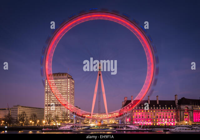 London Eye, London - Stock Image