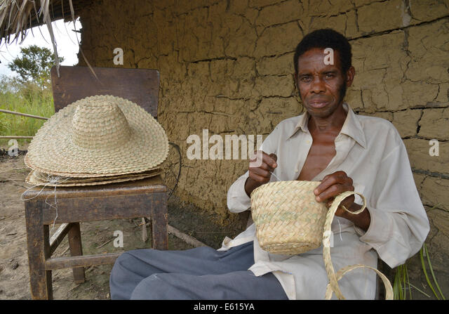 Hatter, Nkala, Bandundu Province, Democratic Republic of the Congo - Stock-Bilder