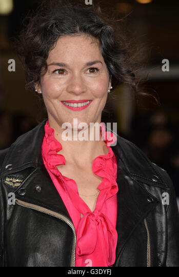 LOS ANGELES, CA - FEBRUARY 1, 2016: Actress Heather Goldenhersh at the world premiere of 'Hail Caesar!' - Stock Image