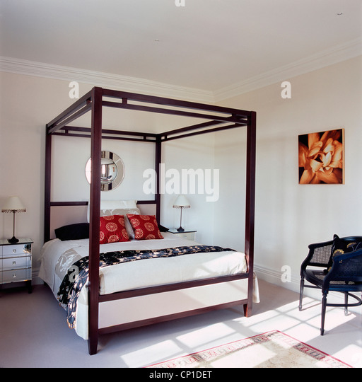 A Modern Bedroom With Double Bed Stock Photos A Modern