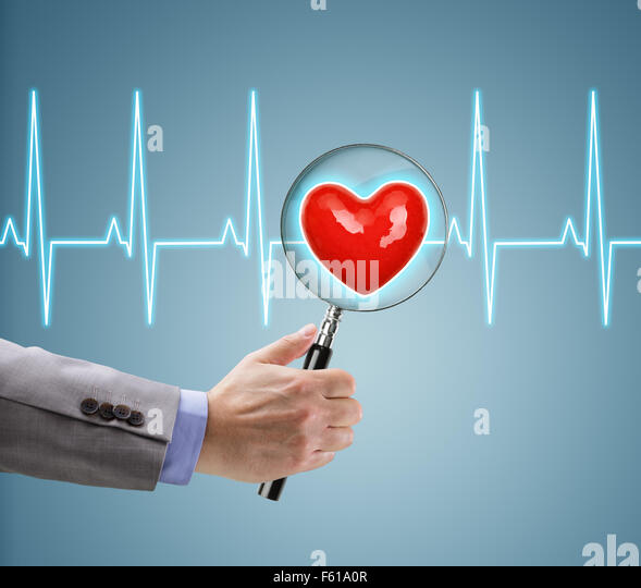 Heart health checkup - Stock Image