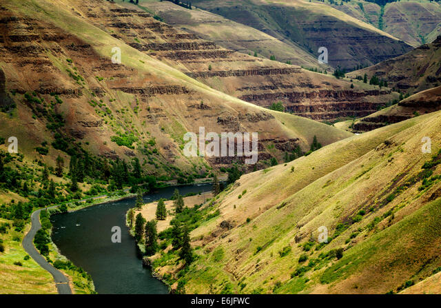 Grand Ronde Wild and Scenic River and canyon. Oregon - Stock-Bilder