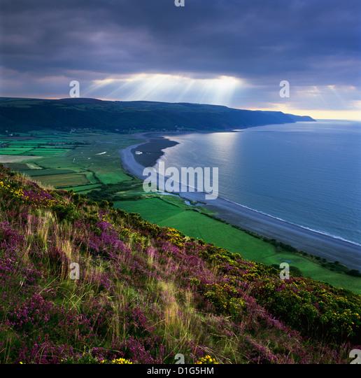 Porlock Bay, Porlock, Somerset, England, United Kingdom, Europe - Stock Image