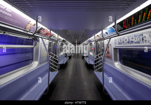 new york interior subway stock photos new york interior subway stock images alamy. Black Bedroom Furniture Sets. Home Design Ideas