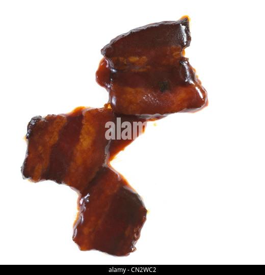 Chinese Bacon - Stock Image