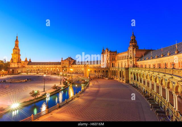 Seville, Spain. - Stock Image