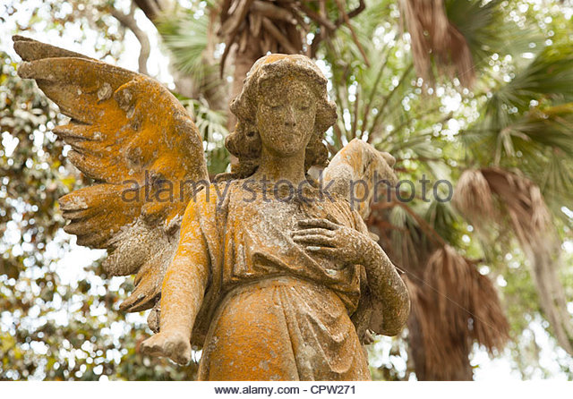 St. Peter's Episcopal Church Cemetery , Fernandina Beach, Florida - Stock Image