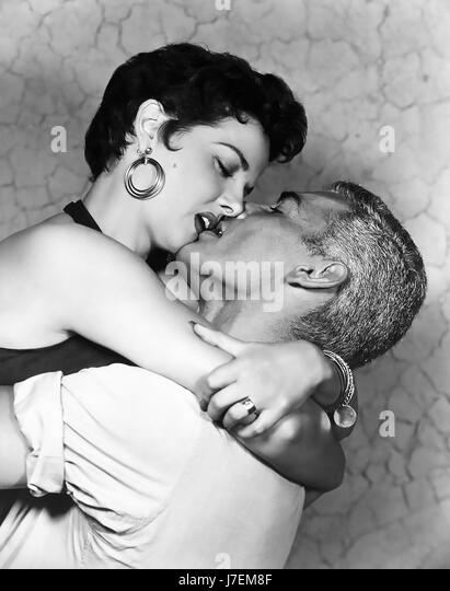 FOXFIRE 1955 Universal Pictures film with Jane Russell and Jeff Chandler - Stock-Bilder