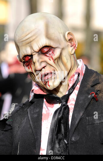 zombie mask - Stock Image