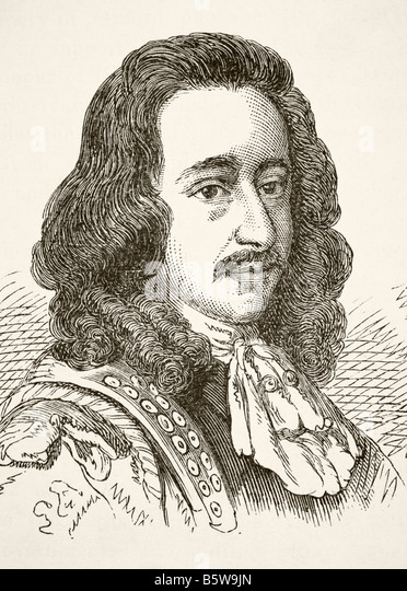 Algernon Sidney 1622 to 1683 English whig politician - Stock Image