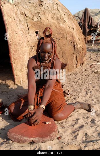 Kaokoland namibia stock photos kaokoland namibia stock for African body decoration