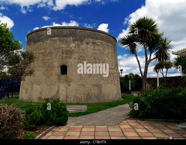 Martello Tower, Eastbourne, Sussex - Stock Image