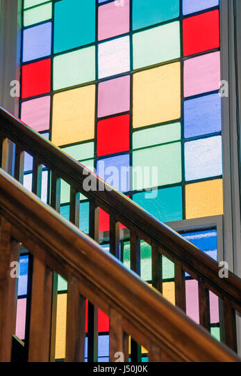 Montgomery Alabama Dexter Avenue King Memorial Baptist Church Martin Luther King Jr. pastor Civil Rights Movement - Stock Image