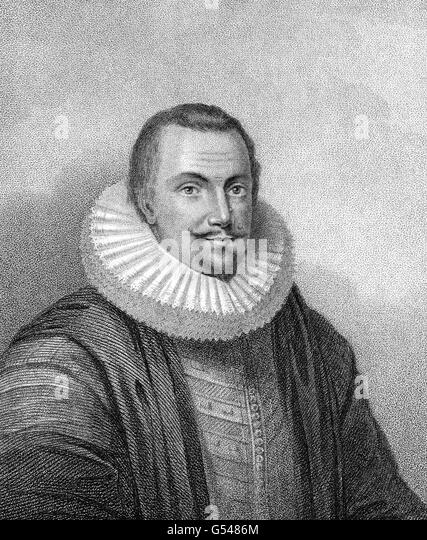 Thomas Coventry, 1st Baron Coventry, 1578-1640, a prominent English lawyer, politician and judge - Stock Image