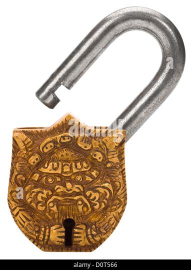 how to cut a padlock