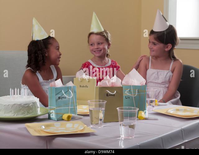 birthday party - Stock Image