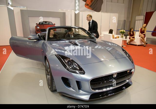 Jaguar Models Stock Photos & Jaguar Models Stock Images