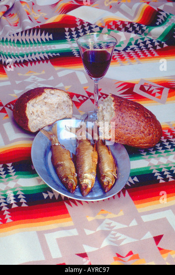Loaves and fishes stock photos loaves and fishes stock for Loaves and fishes mn