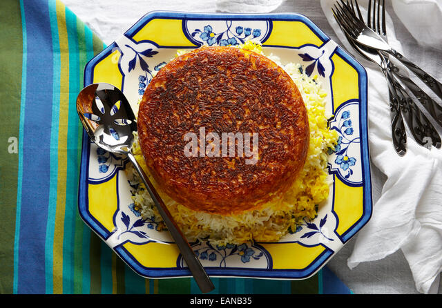 how to make persian rice with tadig