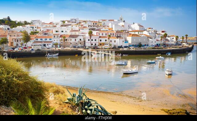 Ferragudo, Algarve, Portugal - Stock-Bilder