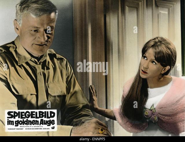 Reflections in a Golden Eye, aka Spiegelbild im goldenen Auge, USA, 1967, Regie: John Huston, Darsteller: Brian - Stock Image
