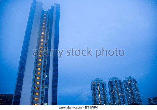 Tall building ; Singapore - Stock Image