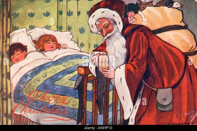 Father Christmas - Stock-Bilder