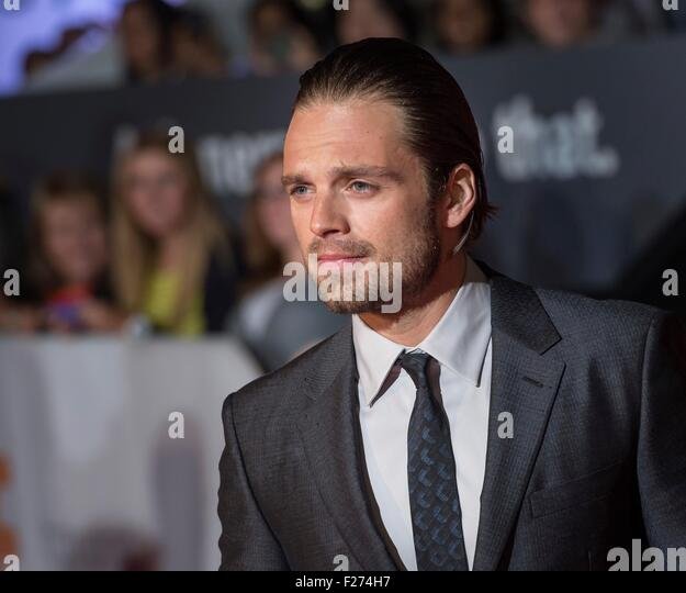 Actor Sebastian Stan attends the world premiere for The Martian at the Toronto International Film Festival at the - Stock Image